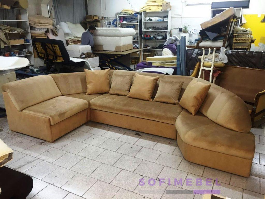 Круглый диван на заказ