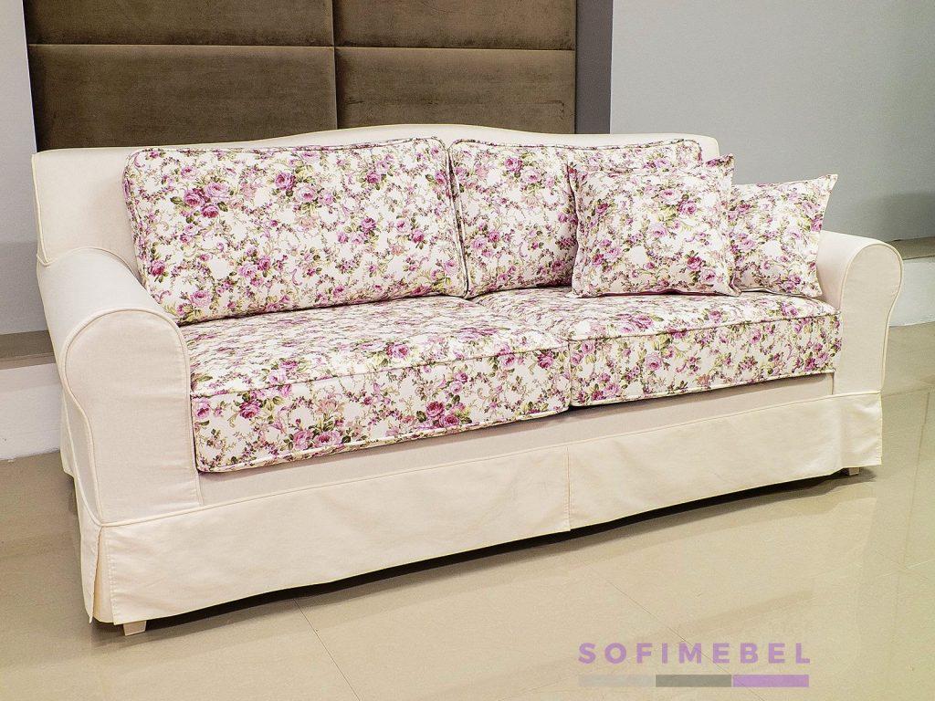 Прямой диван на заказ