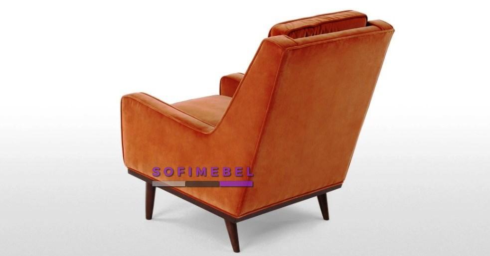 Оранжевое кресло под заказ